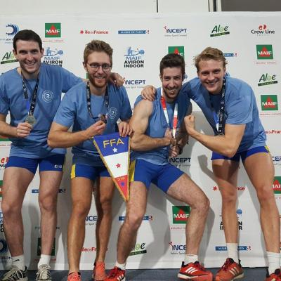 CHAMPIONNAT DE FRANCE AVIRON INDOOR - PARIS - 09 Février 2019
