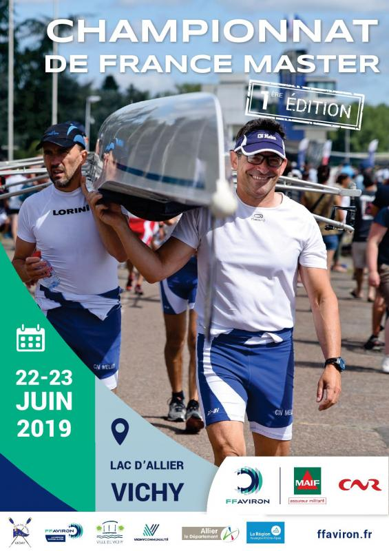 Affiche chfmaster vichy 2019