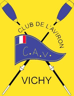 Cav logo fond jaune