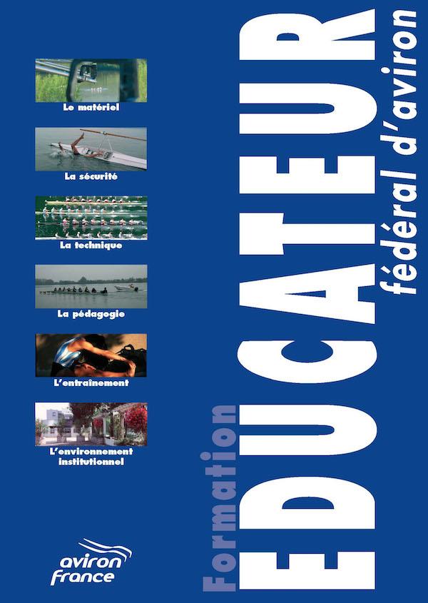 Ffa aviron formation couverture livre educateur federal