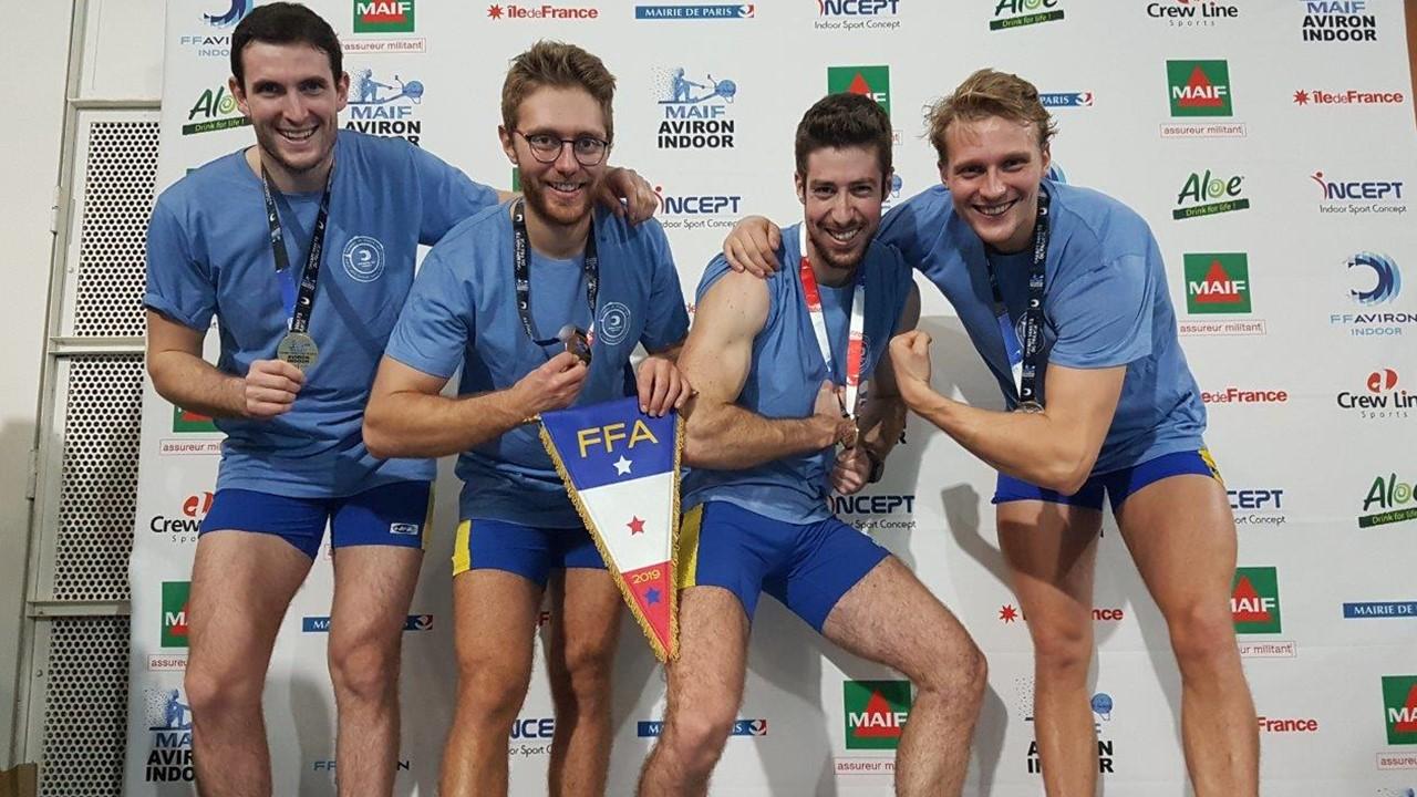 CHAMPIONS DE FRANCE 2019 RELAIS INDOOR
