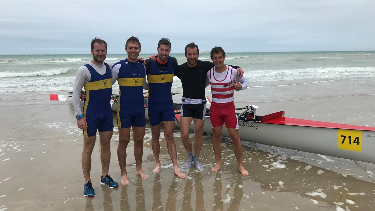 CHAMPIONS DE FRANCE 2019 BEACH ROWING SH4X+