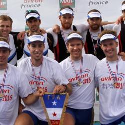 CHAMPIONS DE FRANCE 2016 4 SANS BARREUR